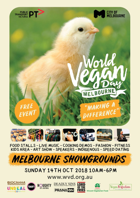 Join us at World Vegan Day