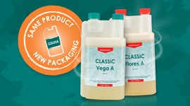 New bottles and cans for all CANNA products